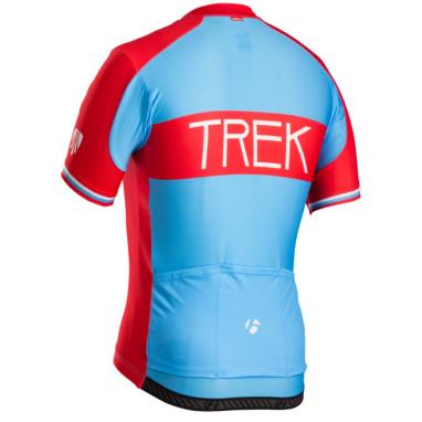 Koszulka Trek Jersey Blue-red Tył