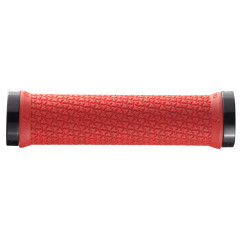 Chwyty Bontrager Grip Rhythm Thin Double Lock-On Red/Black (Czerwono/Czarny) Collar