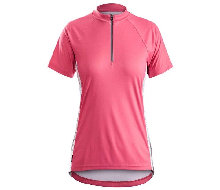 Damska koszulka rowerowa Solstice Short Sleeve Women's Jersey L (Różowa)