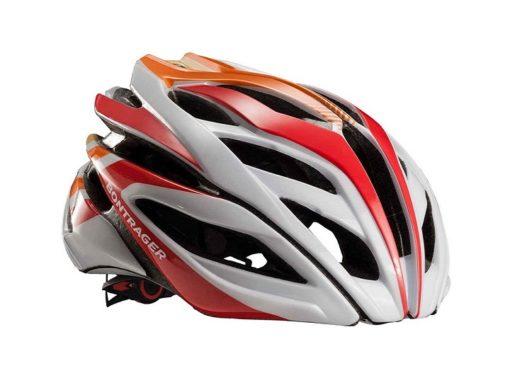 Kask Szosowy Bontrager Specter helmet M (White/Red/Orange)